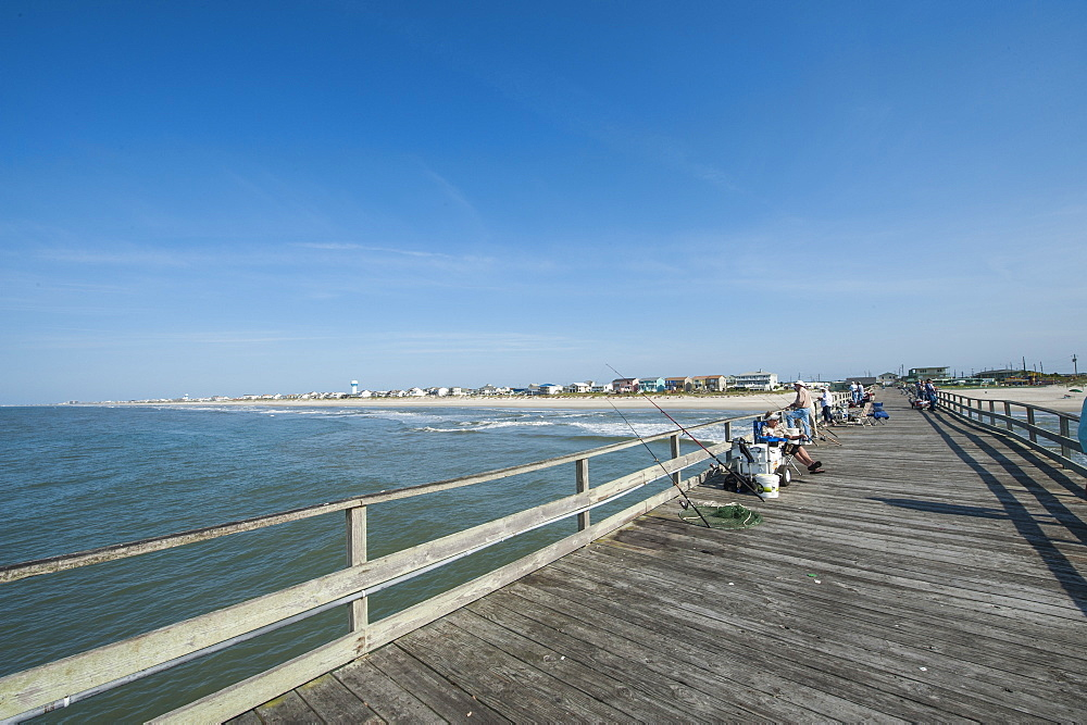 Oceanana Fishing Pier, Atlantic Beach, Outer Banks, North Carolina, United States of America, North America