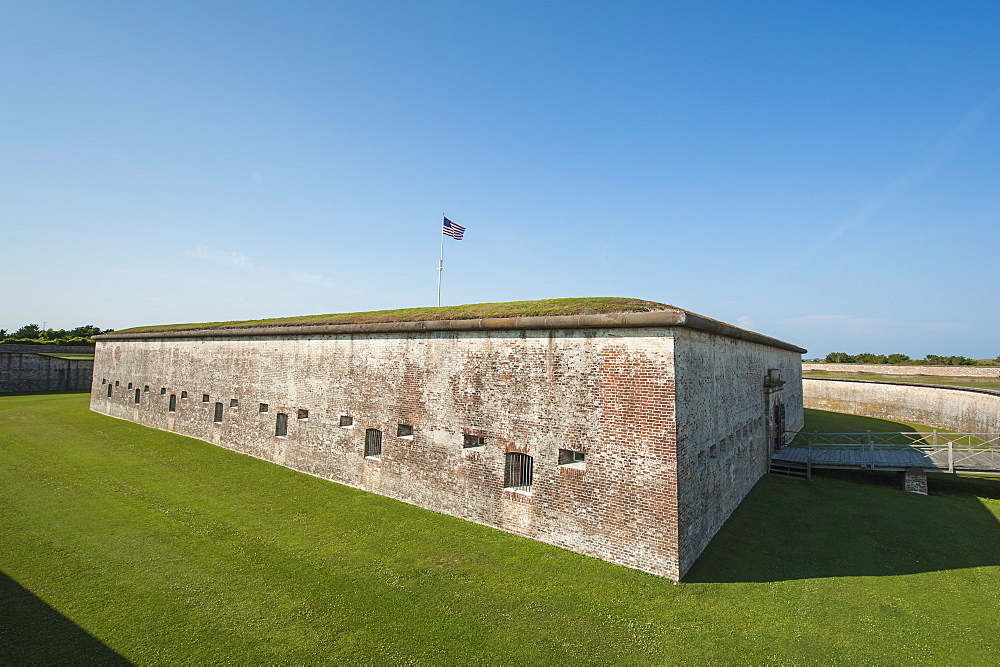 Fort Macon State Park, Atlantic Beach, North Carolina, United States of America, North America