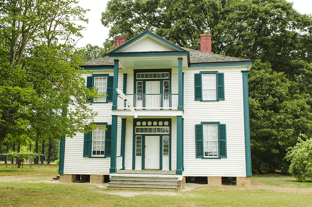 John Harper farmhouse at Bentonville Battlefield State Historic Site, North Carolina, United States of America, North America
