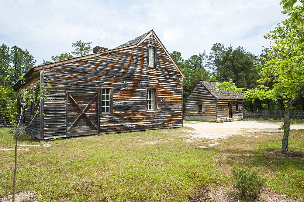 The Civil War site where the South surrendered to the North, Bennett Place State Historic Site, Durham, North Carolina, United States of America, North America