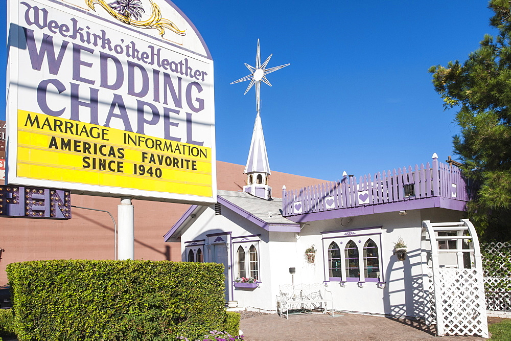 The Wedding Chapel, Las Vegas, Nevada, United States of America, North America