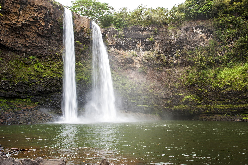 Wailua Falls, Kauai, Hawaii, United States of America, Pacific