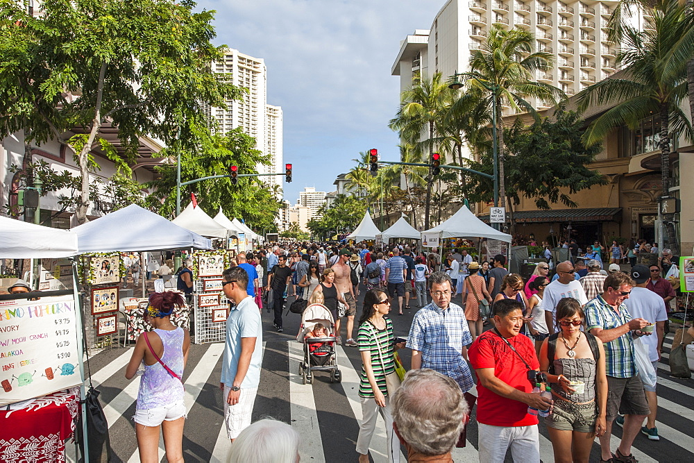 Annual Spam Jam Festival, Waikiki, Honolulu, Oahu, Hawaii, United States of America, Pacific
