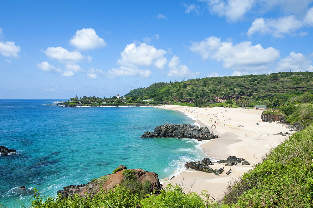 Waimea Bay Beach Park, North Shore, Oahu, Hawaii, United States of America, Pacific