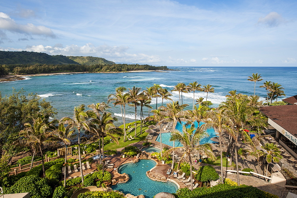 Turtle Bay Resort, North Shore, Oahu, Hawaii.