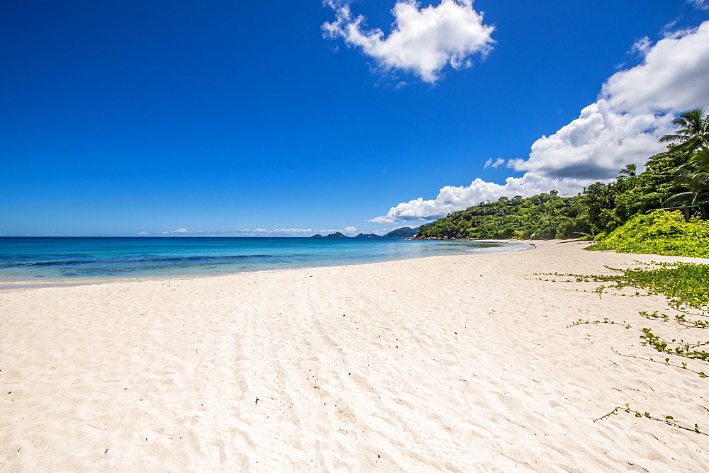 Anse A La Mouche Beach, Mahe, Republic of Seychelles, Indian Ocean, Africa
