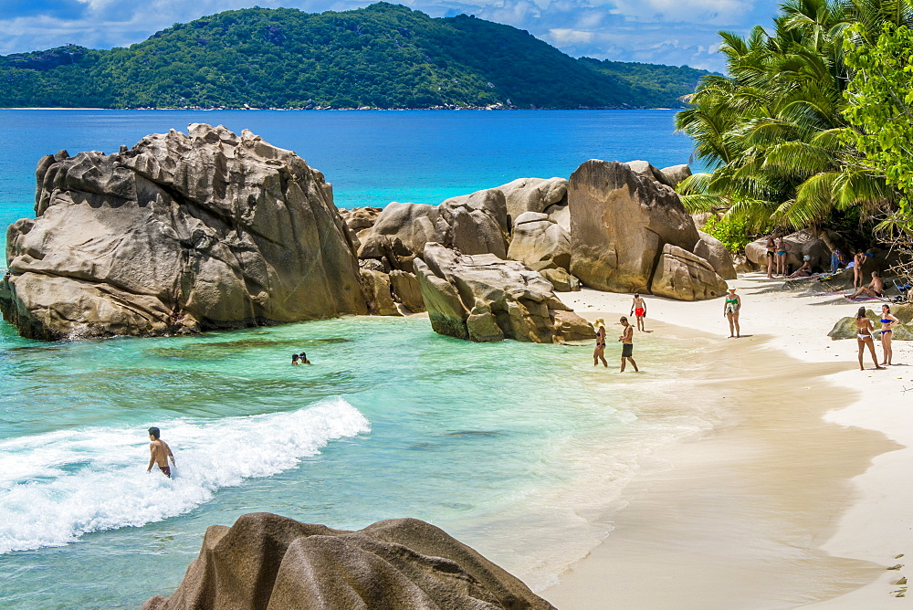 Anse Severe beach, La Digue, Republic of Seychelles, Indian Ocean, Africa - 796-2340