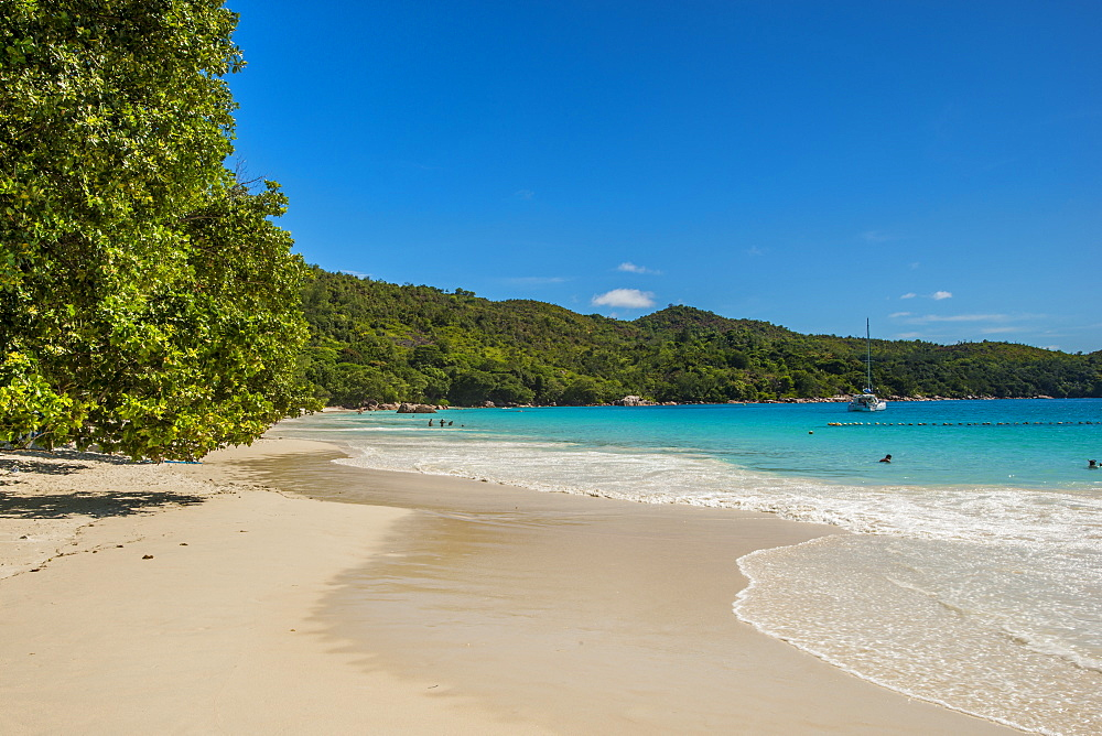 Anse Lazio Beach, Praslin, Republic of Seychelles, Indian Ocean, Africa