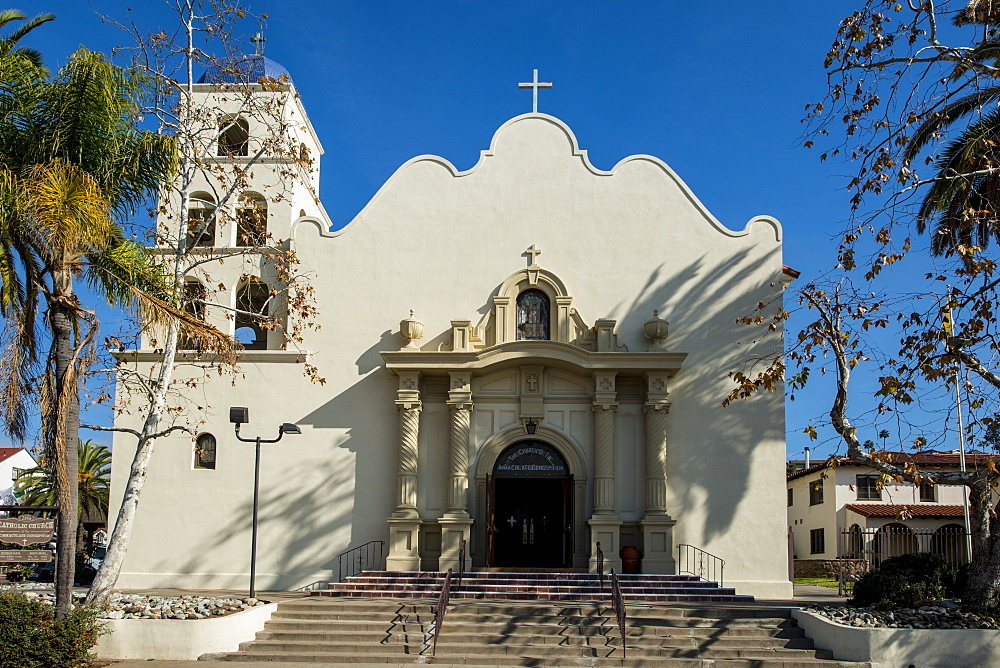 Catholic Church of the Immaculate Conception in Old Town, San Diego, California, United States of America, North America - 796-2358