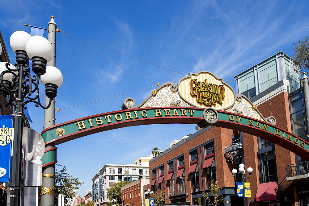 Gaslamp Quarter, San Diego, California, United States of America, North America - 796-2359
