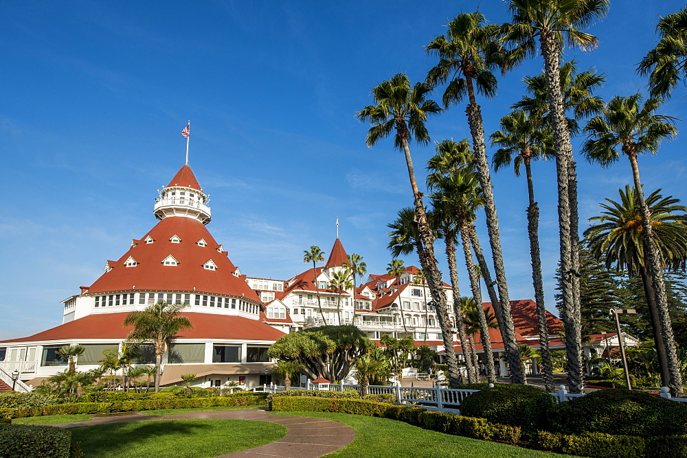 Hotel Del Coronado California Historical Landmark No. 844, San Diego, California, United States of America, North America - 796-2363