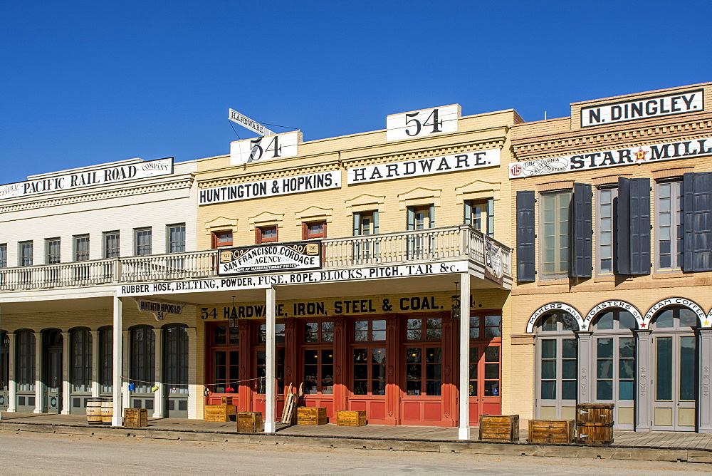 Old Sacramento State Historic Park, Old Sacramento Historic Center, Sacramento, California, United States of America, North America - 796-2369