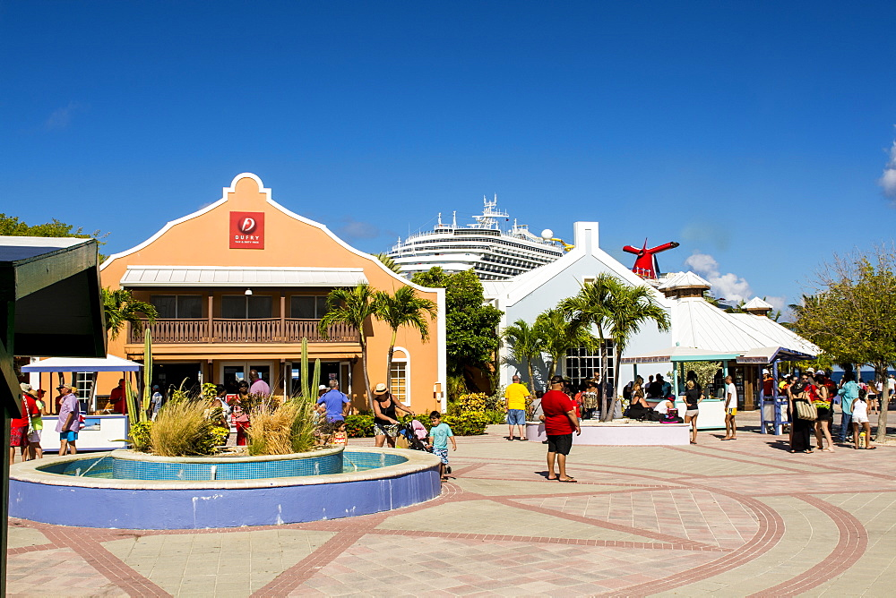 Grand Turk Cruise Port, Grand Turk Island, Turks and Caicos Islands, West Indies, Central America - 796-2435