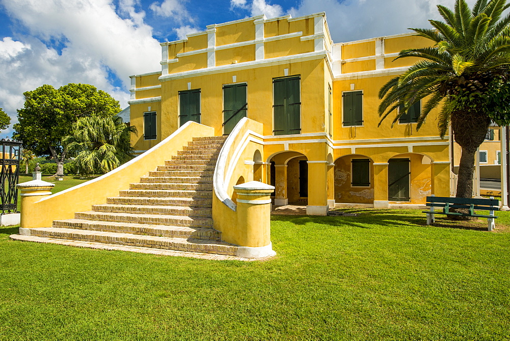 Old Danish Customs House, Christiansted National Historic Site, Christiansted, St. Croix, US Virgin Islands, Caribbean - 796-2449