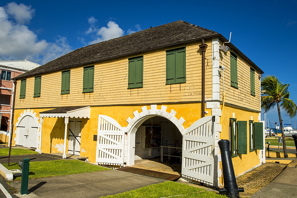 The Historic Scale House, Christiansted, St. Croix, US Virgin Islands, Caribbean - 796-2451