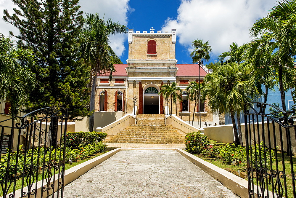 Historic Frederick Lutheran Church, Charlotte Amalie, St. Thomas, US Virgin Islands, Caribbean - 796-2459
