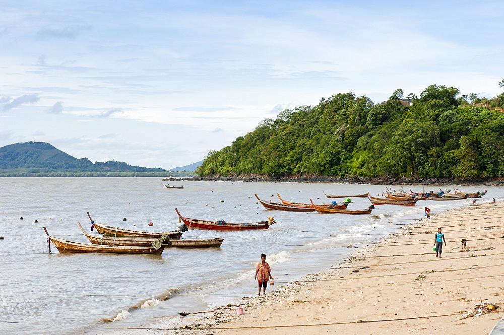 Fishing boats, Phuket, Thailand, Southeast Asia, Asia