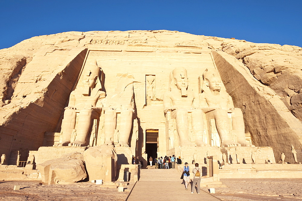 Abu Simbel, UNESCO World Heritage Site, Nubia, Egypt, North Africa, Africa