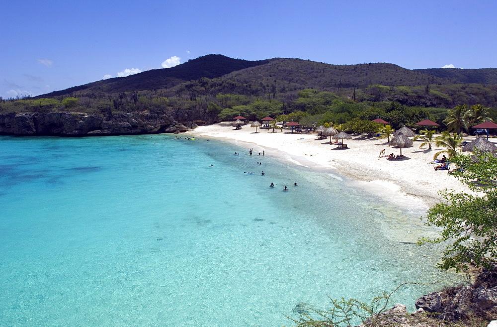 Playa Kenepa, Curacao, Netherlands Antilles, Caribbean, Central America
