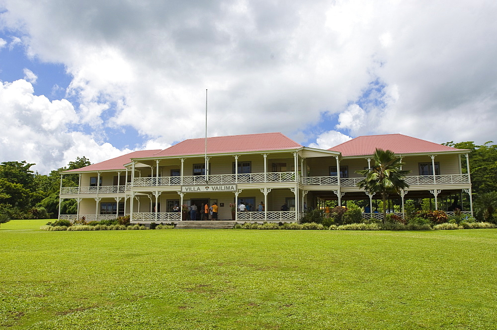 Robert Louis Stevenson Museum, Apia, Upolu Island, Western Samoa, South Pacific, Pacific