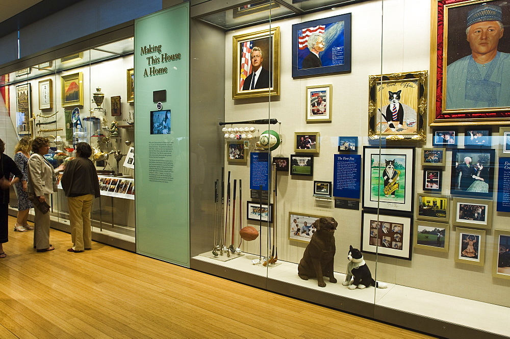 William J. Clinton Presidential Library and Museum, Little Rock, Arkansas, United States of America, North America