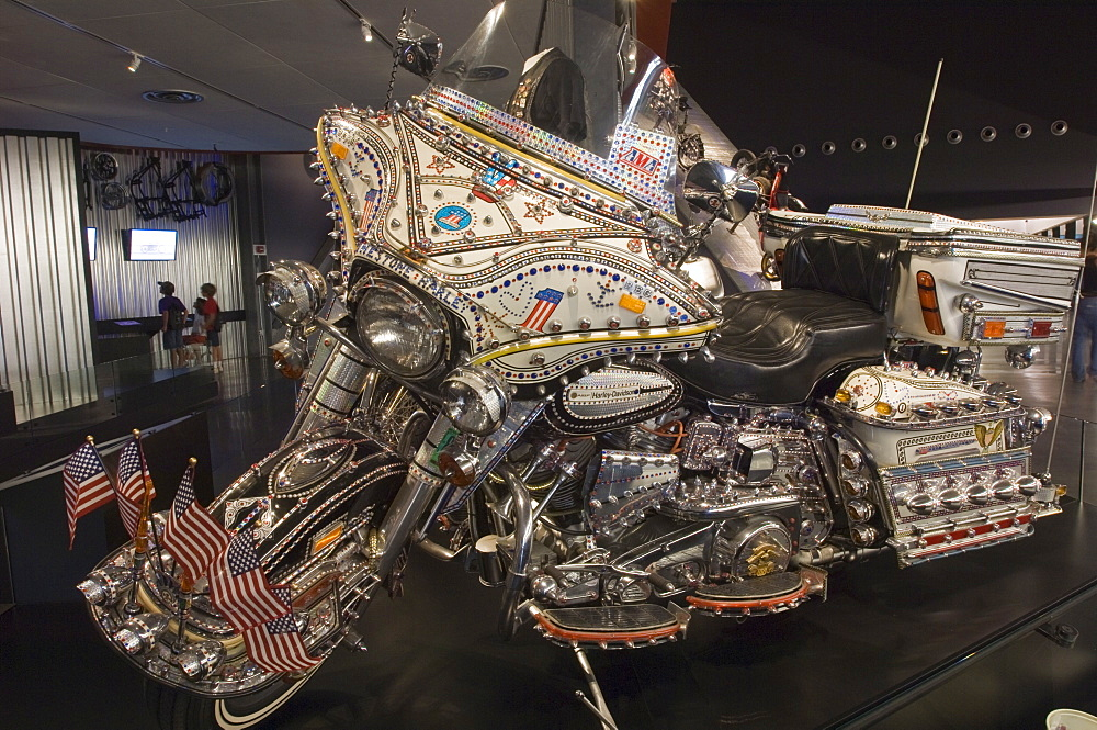 Harley Davidson Museum, Milwaukee, Wisconsin, United States of America, North America