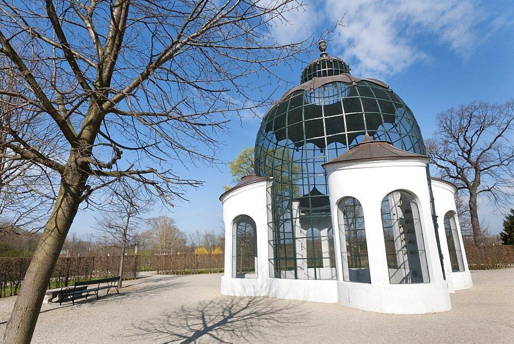 Austria, Vienna, The columbary Dovecote or pigeon loft at the Schloss Schonbrunn, built between 1750-1755.