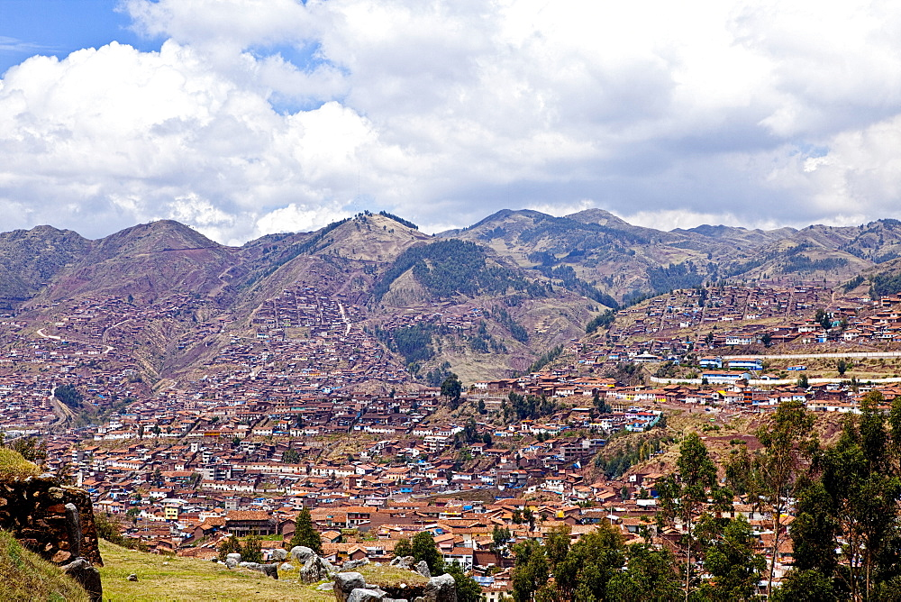 Peru, Cuzco, Overlooking the City.