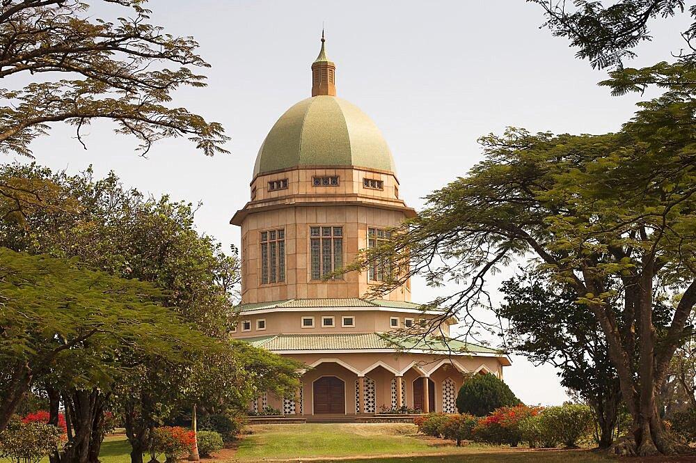 Uganda, Kampala, Bahai church.