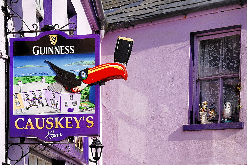 Ireland, County Cork, Eyeries, Causkeys Bar.