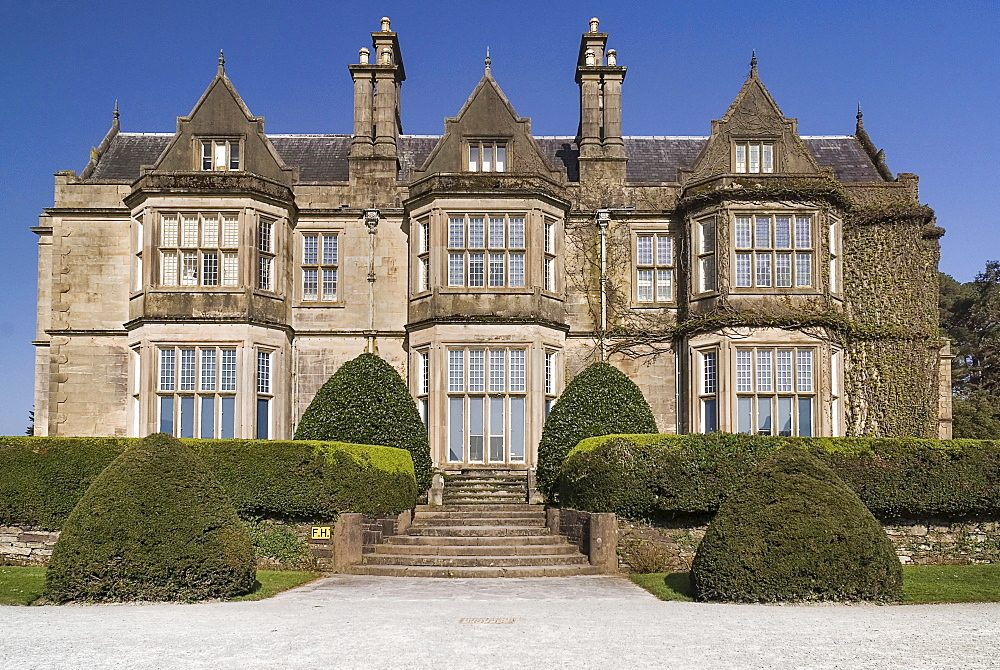 Ireland, County Kerry, Killarney, Muckross House was built for Henry Arthur Herbert between 1839 and 1843.