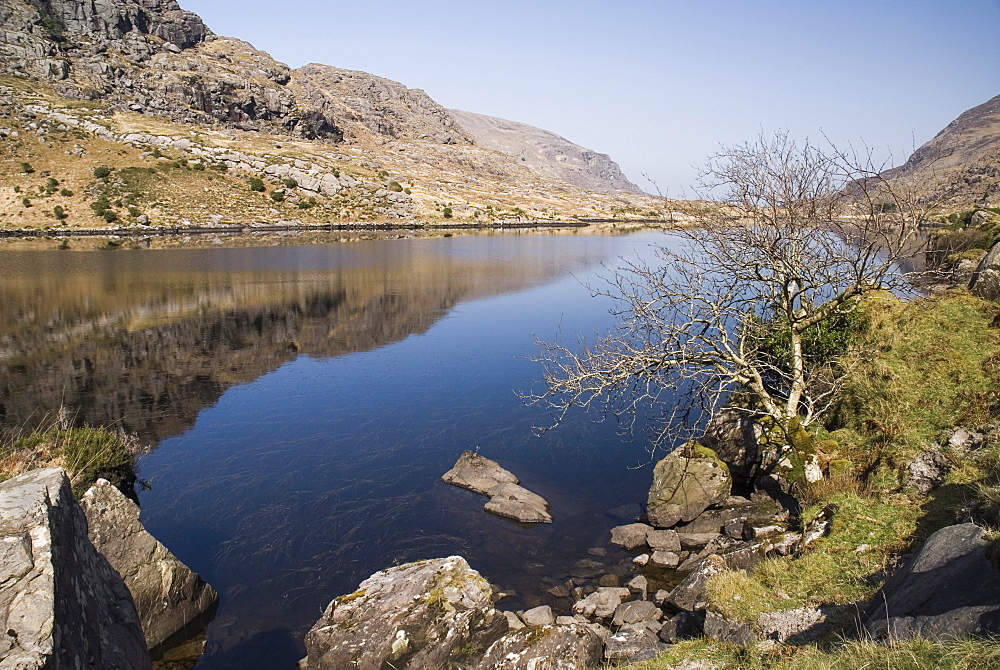 Ireland, County Kerry, Killarney, Gap of Dunloe Black Lough.