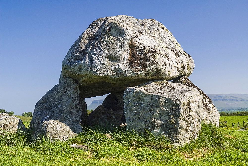 Ireland, County Sligo, Carrowmore, Dolmen at Carrowmore Megalithic site 4000 BC approx.