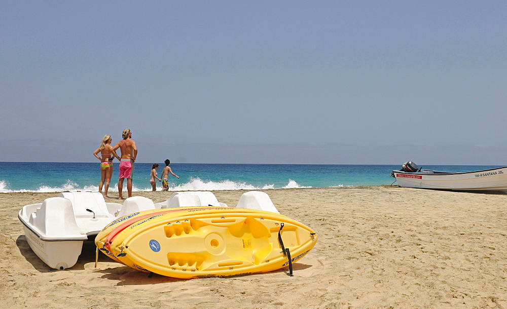 Cape Verde Islands, Sal Island, Santa Maria, Punta Preta beach.