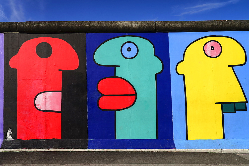 High quality stock photos of thierry noir for Berlin wall mural