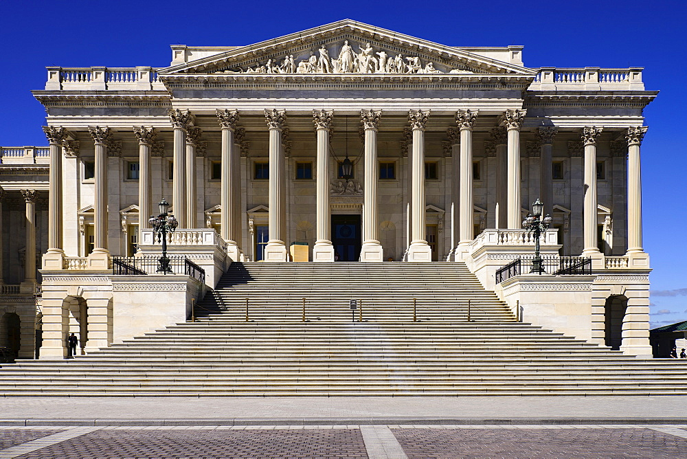 USA, Washington DC, Capitol Building, The House of Representatives.