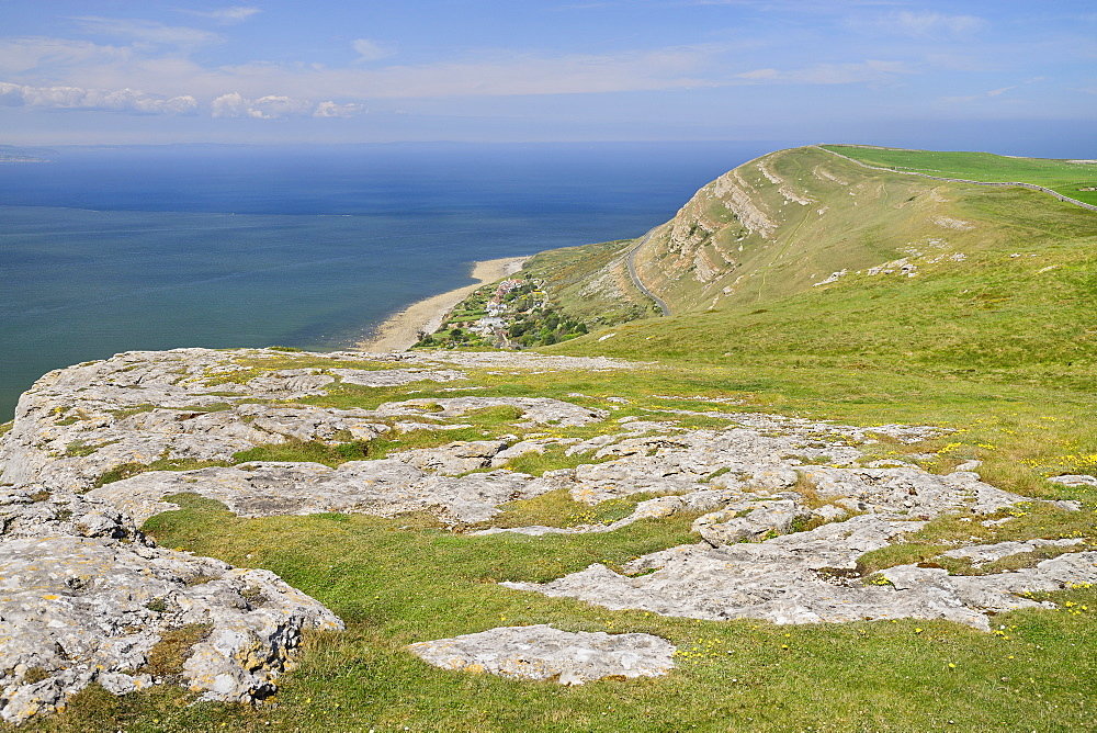 Wales, Llandudno, Great Orme Headland summit.