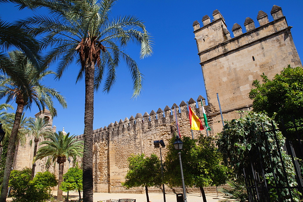 Spain, Andalucia, Cordoba, The Alcazar. - 797-13035