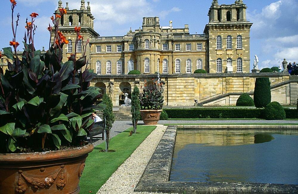 Blenheim Palace, Blenheim, Oxfordshire, England, United Kingdom
