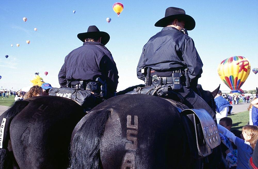 USA, New, Mexico, Albuquerque, Balloon fiesta. - 797-8356