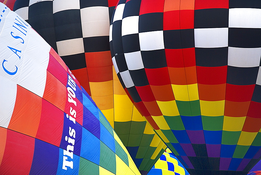 Annual balloon fiesta Colourful hot air balloons, Albuquerque, New Mexico, United States of America - 797-9145