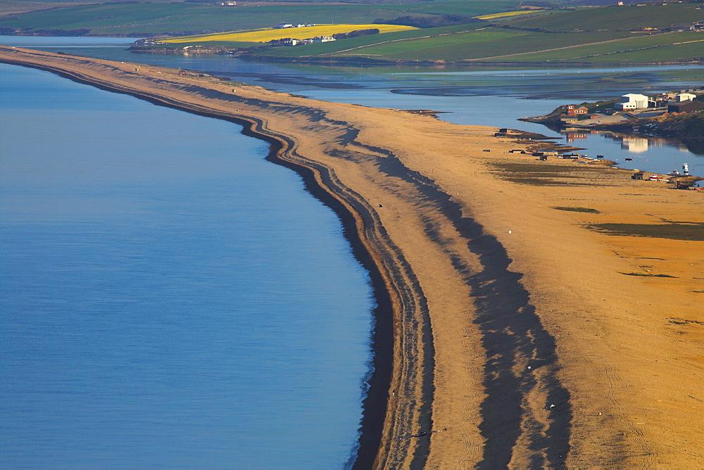 Chesil Beach and the Fleet, Dorset, England, United Kingdom, Europe