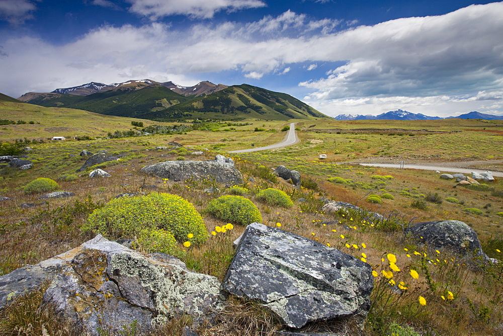 Countryside near El Calafate, Patagonia, Argentina, South America