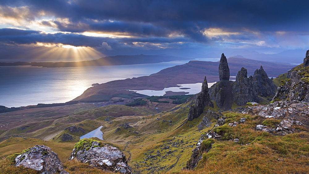 Old Man of Storr, Isle of Skye, Inner Hebrides, Scotland, United Kingdom, Europe
