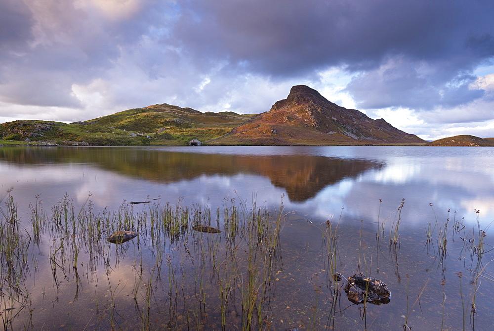 Llyn Cregennen in Snowdonia National Park, Wales, United Kingdom, Europe