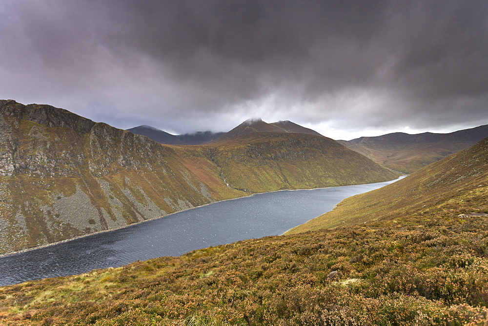 The Mourne Mountains in County Down, Ulster, Northern Ireland, United Kingdom, Europe