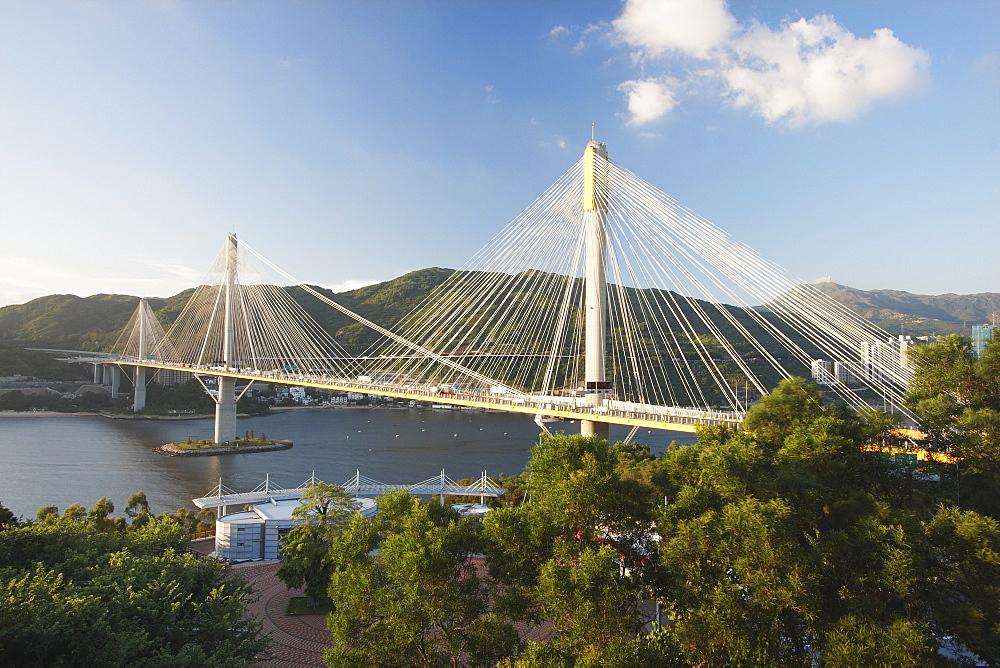 Kap Shui Mun Bridge, Tsing Yi, Hong Kong, China, Asia