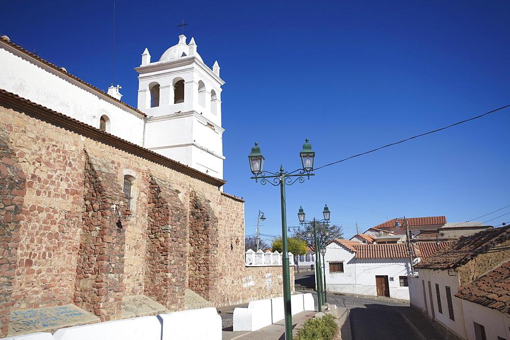 Iglesia de la Recoleta (Recoleta Church), Sucre, UNESCO World Heritage Site, Bolivia, South America