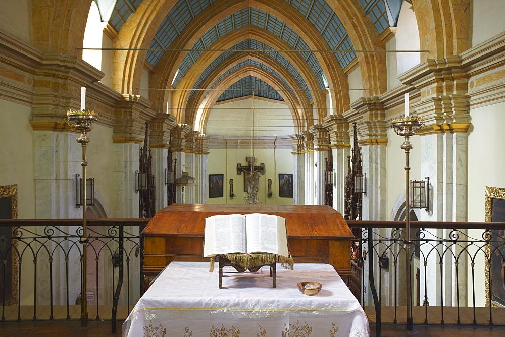 Interior of Iglesia de la Recoleta (Recoleta Church), Sucre, UNESCO World Heritage Site, Bolivia, South America