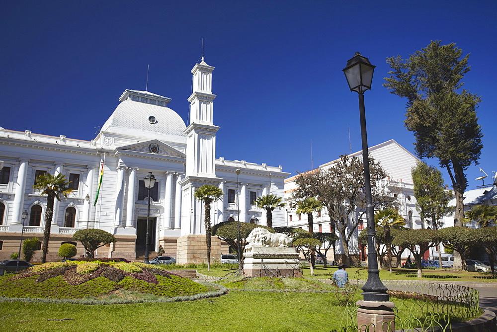 Supreme Court, Sucre, UNESCO World Heritage Site, Bolivia, South America